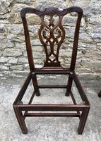 Set of 6 Georgian Mahogany Dining Chairs (11 of 21)