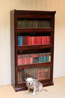 Mahogany Four Tier Stacking Bookcase (5 of 10)