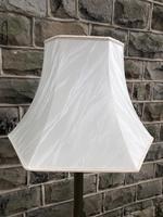 English Brass Corinthian Column Standard Lamp (5 of 8)