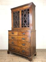 19th Century Oak Two Stage Bookcase (7 of 11)