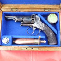 Webley Percussion Pistol Cased With Accessories (3 of 5)