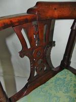 Georgian Walnut Corner Chair (2 of 7)