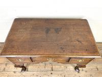 18th Century Oak Lowboy (6 of 10)