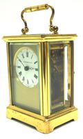 Classic Antique French 8-day Carriage Clock Timepiece c.1890 - L Epee & Camerer Cuss (4 of 10)