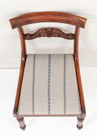 Set of 4 William IV Style Mahogany Chairs (10 of 10)