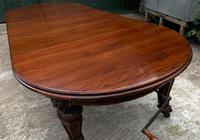 Impressive Victorian Mahogany Extending Dining Table - Seats 12 (6 of 23)