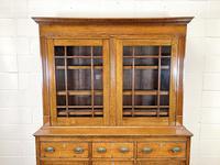 Antique 19th Century Glazed Oak Dresser (4 of 10)