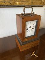 French Campaign Carriage Clock by Leroy A Paris c.1830 (3 of 5)