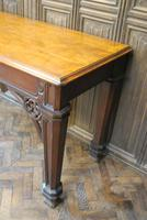 Country House Gothic Serving Table / Console Table (8 of 9)