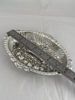 Victorian Antique Silver Dish or Bowl 1892 Elkington Sterling Silver Fruit Dish (3 of 9)
