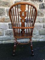 Antique Ash & Elm Windsor Armchair (9 of 10)