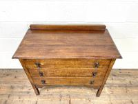 Early 20th Century Oak Chest of Drawers (5 of 9)