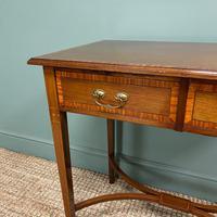 Elegant Edwardian Mahogany Antique Writing Table (4 of 7)
