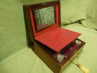 Unisex Rosewood Fitted Jewellery – Dressing Box. c1835 (9 of 12)