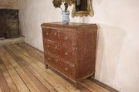 18th Century Gustavian Original Painted Commode - Red (5 of 15)