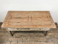 Early 20th Century Antique Oak & Pine Work Table (4 of 15)