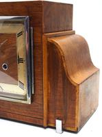 Fine Smiths Art Deco Mantel Clock Triple Chime 8 Day Westminster Chime Mantle Clock (6 of 10)