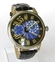 Gents Over-sized Molnia Regulator Wrist Watch (2 of 5)