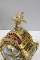 French Napoleon III Boulle Mantel Clock by Japy Freres (7 of 11)