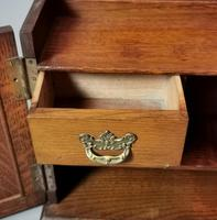 Antique Victorian Oak Smokers Cabinet, Arts & Crafts (14 of 14)