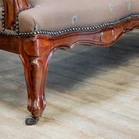 Mahogany Carved Couch (7 of 9)