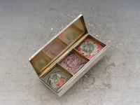 Early 20th Century Silver Triple Compartment Stamp Case by Cohen & Charles, London, 1913 (7 of 10)