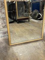 Art Deco Oak Mirror (3 of 4)