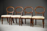Set 4 Victorian Style Dining Chairs (3 of 11)
