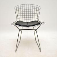 Pair of Vintage Wire Chairs by Harry Bertoia (6 of 10)