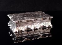 Antique silver snuff box, Deakin and Francis (9 of 12)
