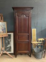 Lovely French Single Door Armoire or Hall Cupboard (3 of 7)