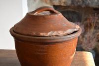 Large 19th Century Terracotta Bread Crock (6 of 10)