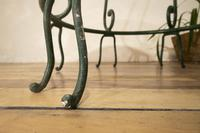 """A 20th Century French Iron and Marble """"orangerie"""" Centre - Garden Table (12 of 13)"""