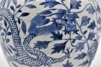 Chinese Porcelain Jar with Lid - Kangxi Revival (3 of 7)