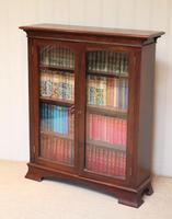 Edwardian Mahogany Glazed Bookcase c.1910 (11 of 11)