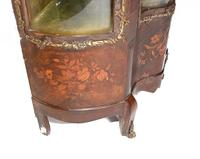 Antique Display Cabinet French Louis XVI Inlaid Bijouterie (7 of 10)