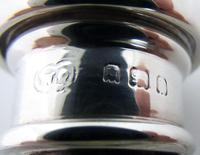 20s Solid Sterling Silver & Cut Glass Scent Perfume Bottle, Plain, English 20th Century (3 of 5)