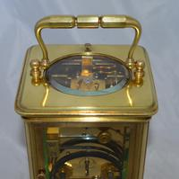 French Strike / Repeat Carriage Clock - Manchester Retailer (5 of 5)