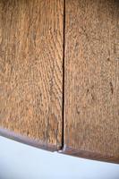Georgian Oval Oak Gateleg Table (8 of 12)