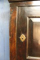 Late 17thC Oak Hanging Wall Cupboard. Mural or Spice Cabinet (11 of 17)
