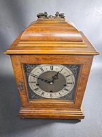 19th Century Walnut Mantle Clock (2 of 6)