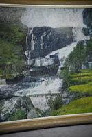 Large Waterfall Oil Painting (9 of 20)