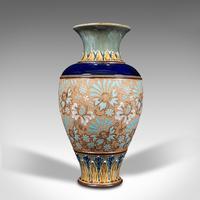 Antique Decorative Vase, English, Ceramic, Display, Art Nouveau, Edwardian, 1910 (6 of 12)