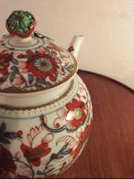 First Period Dr Wall Worcester Teapot (5 of 9)