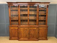 William IV Mahogany Breakfront Bookcase (2 of 15)