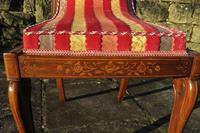 Antique French Regency Jeanselme Rosewood Dining Chairs (7 of 11)
