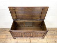 Vintage Oak Blanket Box (9 of 10)