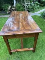 18th Century Cherrywood Farmhouse Table (3 of 9)
