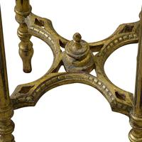 Pair of French Giltwood Carved Marble Top Stands (6 of 6)