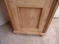 Quality Antique Pine 1 Door Display Cabinet / Cupboard to wax / paint (9 of 10)